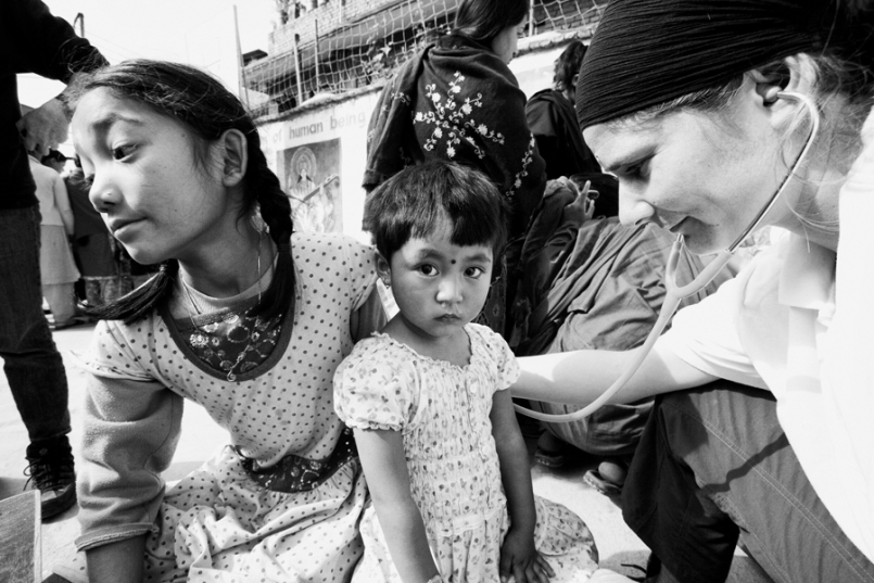 Medical Checks for Children, Kathmandu